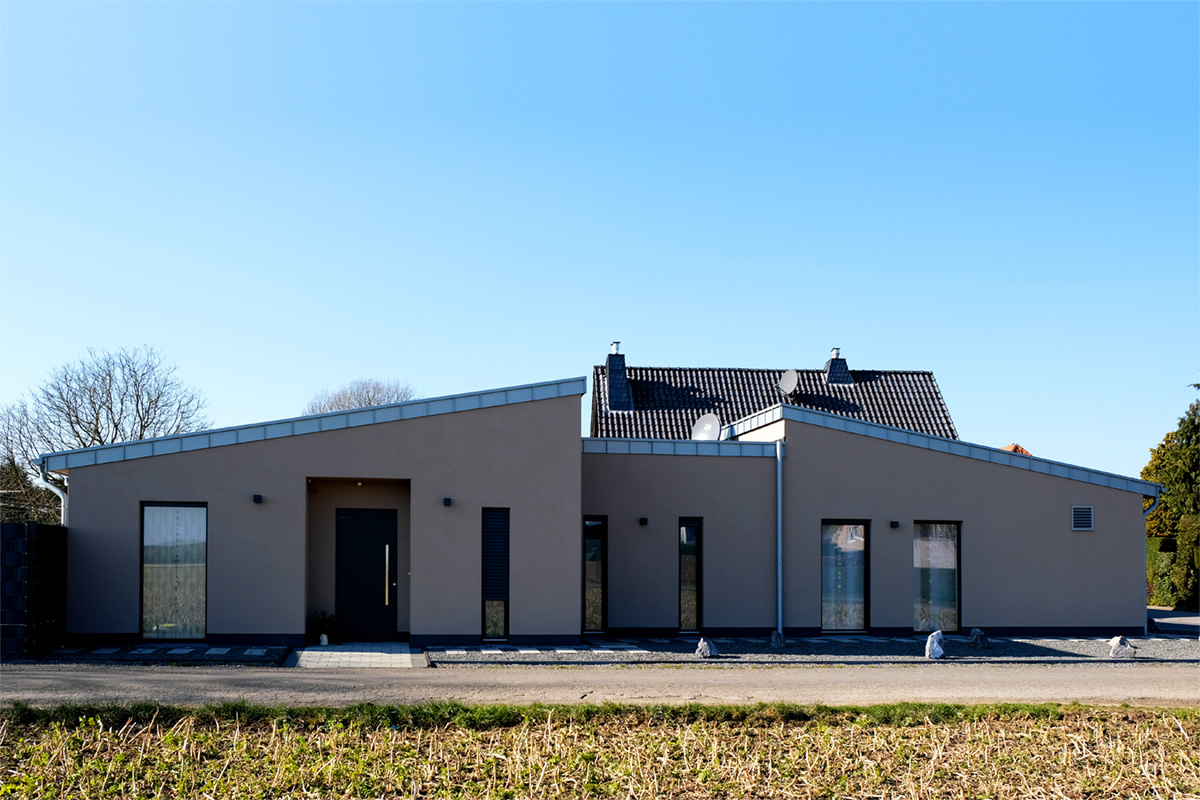 Barrierefreies Einfamilienwohnhaus in Holzrahmenbauweise in Gangelt