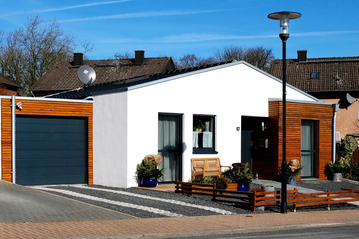 Barrierefreies Wohnhaus in Holzrahmenbau