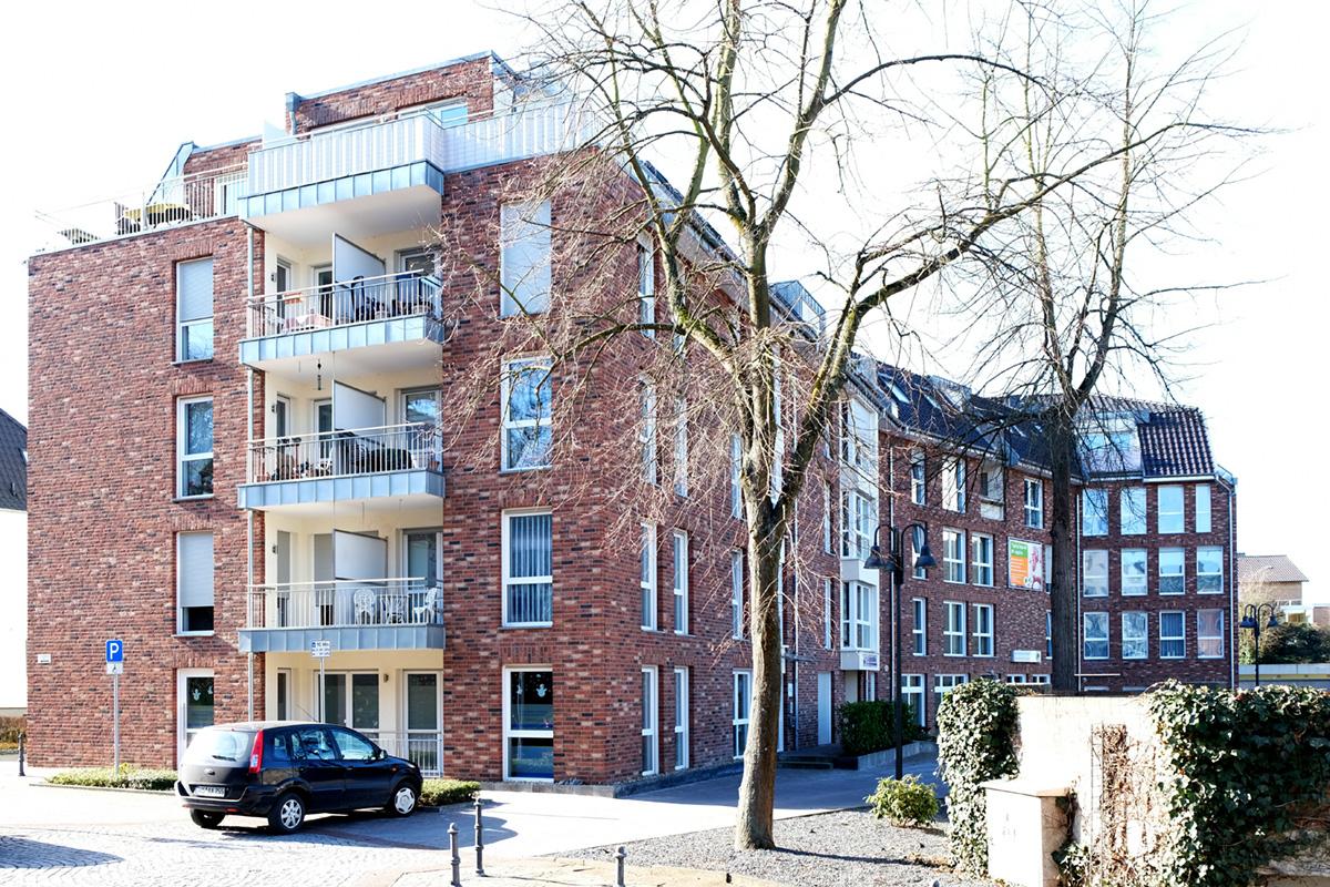 Betreutes Wohnen mit Wohnungen und Wohngruppe in Übach-Palenberg