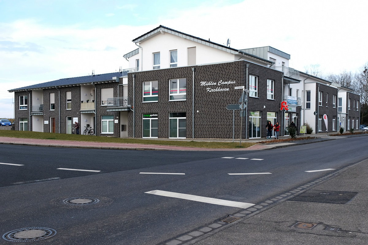 Betreutes Wohnen mit Praxen und Apotheke in Kirchhoven
