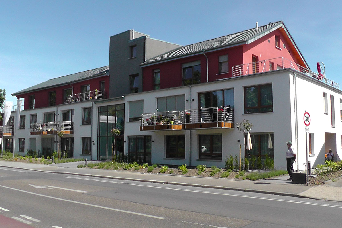 Wohn- und Geschäftshaus in Würselen